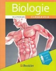 Biologie - Clasa a 7-a - Caiet de lucru. Ed.2016 - Delia Prisacaru