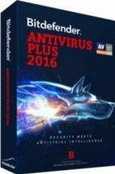 Bitdefender Antivirus Plus 2016 1PC 1An Licenta Noua Electronica