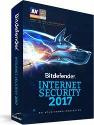 Bitdefender Internet Security 2017 10PC 1An Licenta Noua Box Antivirus