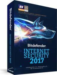Bitdefender Internet Security 2017 3PC 1An Licenta Noua Box Antivirus
