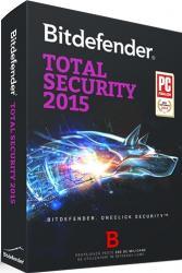 Bitdefender Total Security 2015 1PC 1An Licenta Noua Box