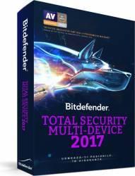 Bitdefender Total Security Multi-Device 2017 3PC 1An Licenta Noua Box Antivirus