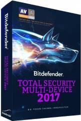 Bitdefender Total Security Multi-Device 2017 5PC 1An Licenta Noua Electronica Antivirus