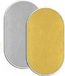 Blenda Fancier 2 in 1 kit 102x153cm GoldSilver Accesorii Blitz uri si Lumini