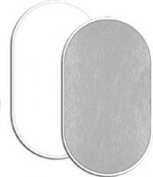Blenda Fancier 2 in 1 kit 102x153cm WhiteSilver Accesorii Blitz uri si Lumini