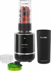 Blender de masa Breville VBL120X-01 300W 0.5L Zdrobire gheata Lame inox Negru Blendere si Tocatoare