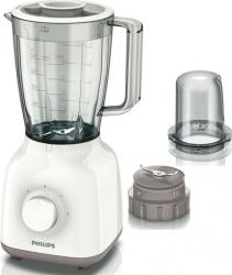 Blender de masa Philips HR2102 400W 2 viteze Functie Pulse Lame inox Alb