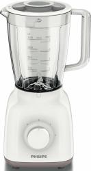 Blender de masa Philips HR2105 400W 1.25L 2 viteze Functie Pulse Lame inox Alb