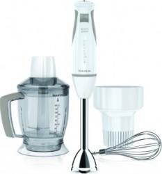 Blender Taurus Bapi 600 Plus 600W 10 viteze Lame inox Functie Pulse Alb Blendere si Tocatoare
