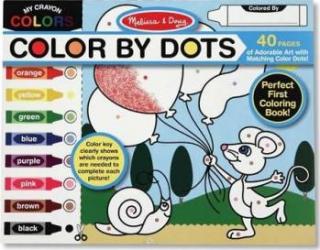 Bloc cu desene de colorat Melissa and Doug Rechizite