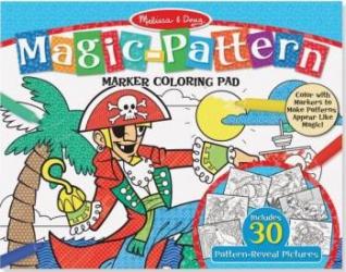 Bloc de colorat modele magice Albastru - Melissa and Doug Rechizite