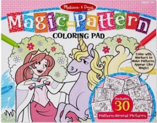 Bloc de colorat modele magice Roz - Melissa and Doug Rechizite