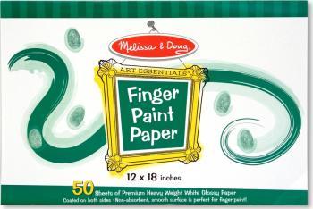 Bloc de desen pentru pictura cu degetele Melissa and Doug Rechizite