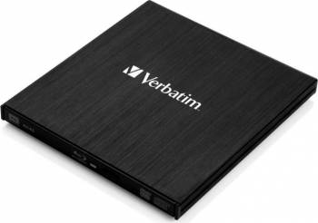 Blu-ray ReWriter Verbatim Slimline 43890 USB 3.0 Unitati optice