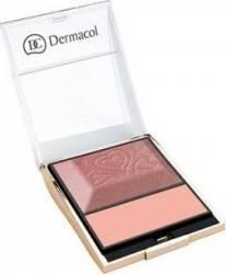 Blush Dermacol Blush and Illuminator 4 Make-up ten