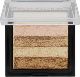 Blush Makeup Revolution London Shimmer Brick - Radiant