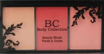 Blush pudra trio Beauty Make-up ten