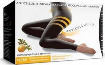 Crema anti-celulitica Cosmetica Afrodita Body Slim Ciorapi Masaj Anticelulitic 42-46 negri Creme Anti Celulita&Antivergeturi