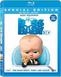 Boss Baby: Cine-i sef acasa? (COMBO 3D+2D) BD 3D Filme BluRay 3D