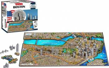 BOSTON Puzzle 4D Cityscape Jucarii Interactive