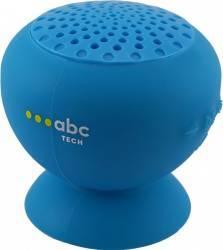 Boxa Portabila Abc Tech Waterproof Cu Microfon Albastru boxe portabile