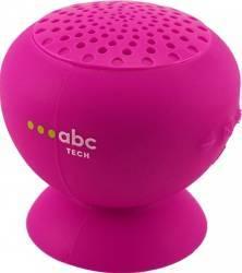 Boxa Portabila Abc Tech Waterproof Cu Microfon Roz