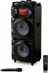 Boxa Portabila Bluetooth Akai ABTS-T1203 90W Karaoke USB Card SD FM Radio Boxe Portabile