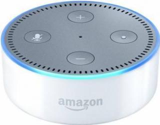Boxa Portabila Amazon Echo Dot 2nd Gen Alba Boxe Portabile