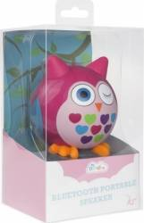 Boxa portabila cu bluetooth KitSound Mini Buddy Owl Pink