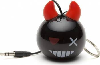 Boxa portabila KitSound Mini Buddy Devil Bomb