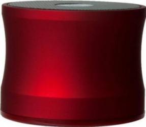 Boxa Portabila Muvit cu Microfon si Micro SD Card Reader Rosu