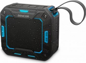 Boxa portabila Sencor SSS 1050 Bluetooth Audio 4.1 5W Waterproof Albastra Boxe Portabile