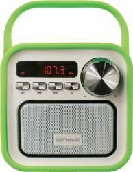 Boxa Portabila Serioux Joy microSD FM Verde