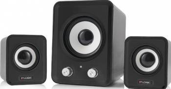 Boxe Audio Logic LS-20 2.1 Negru