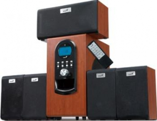 Boxe Genius SW-HF5.1 6000 Wood Boxe