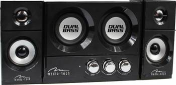 Boxe Media-Tech SOUNDRAVE 2.2 DUALBASS Resigilat