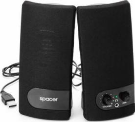 Boxe Spacer 2.0 3Wx2 USB SPB-216