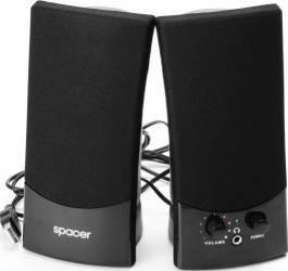 Boxe Spacer 2.0 3Wx2 USB SPB-217