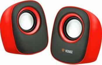 Boxe Stereo Yenkee 2.0 Rosii Boxe