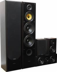 Sistem 5.0 TAGA Harmony TAV-606SE Black Sisteme Audio