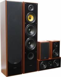 Sistem 5.0 TAGA Harmony TAV-606SE Wallnut Sisteme Audio