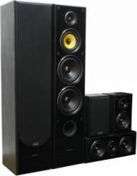 Sistem 5.0 Pasive  TAGA Harmony TAV-606 V.3  600W Black Sisteme Audio