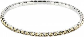 Bratara cu Cristale SWAROVSKI® Stretch - Light Colorado Topaz Bratari