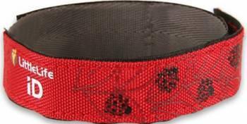 Bratara de Siguranta din Material Textil cu Buburuze