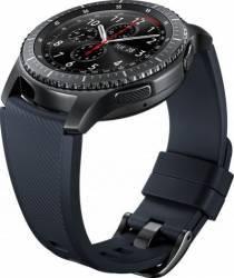 Bratara Smartwatch Samsung Gear S3 Silicon Blue Black Accesorii Smartwatch