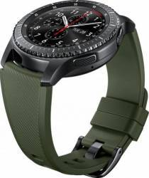 Bratara Smartwatch Samsung Gear S3 Silicon Khaki Accesorii Smartwatch