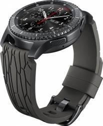 Bratara Smartwatch Samsung Gear S3 Silicon Maron Accesorii Smartwatch