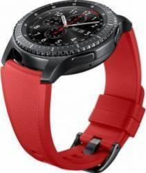 Bratara Smartwatch Samsung Gear S3 Silicon Orange Red Accesorii Smartwatch