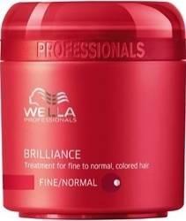 Masca de par Wella Brilliance for Thin Hair