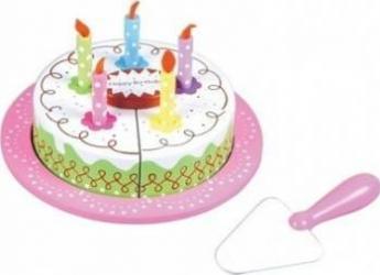 Bucatarie copii New Classic Toys Cutting Cake - Birthday Cream Cake Jucarii Interactive